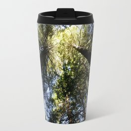 Towering Sunlit Sequoias Travel Mug