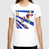 donkey kong T-shirts featuring Inside Donkey Kong stage 4 by Metin Seven