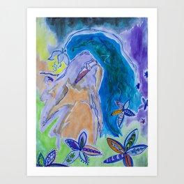 Divination Art Print