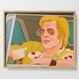 Once Upon A Time in Hollywood Cliff Booth Serving Tray