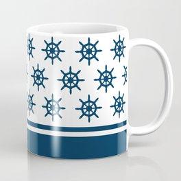 Sailing wheel pattern Coffee Mug