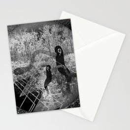 1000 days in the woods Stationery Cards