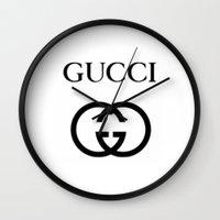 gucci Wall Clocks featuring Gucci by I Love Decor