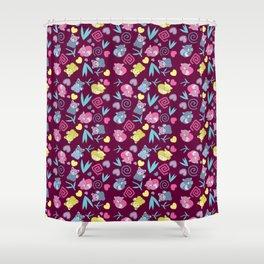 Cute Red Pandas Pattern Shower Curtain
