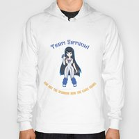 workout Hoodies featuring Satsuki Workout by LadyInverse
