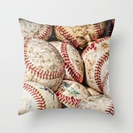 Fair Balls Throw Pillow