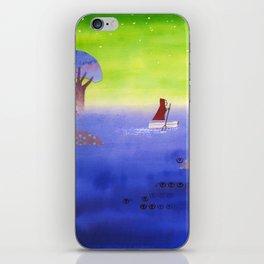 Crossing The Lake iPhone Skin