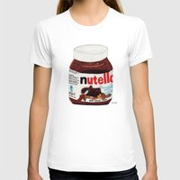 nutella T-shirts featuring Nutella by Angela Dalinger