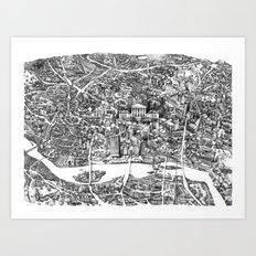 Richmond, Va Art Print