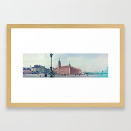 WARSAW Framed Art Print