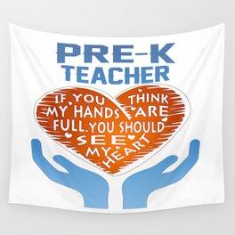 Pre-K Teacher Wall Tapestry