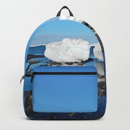 Icebergs Beached by the tides Backpack