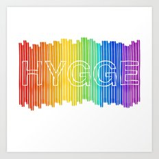Hygge for All Art Print