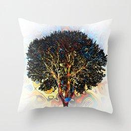 Tree Design 198 Throw Pillow