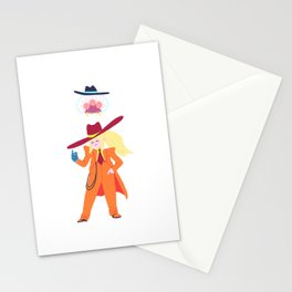 Zoot Suit Samus Stationery Cards