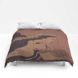 Mermaid / Sketch Comforters