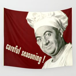WANNA KNOW MY SECRET? CAREFUL SEASONING Wall Tapestry