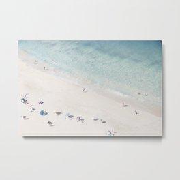 Summer Seaside Metal Print
