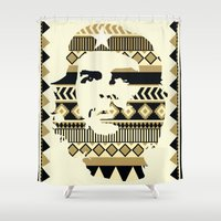che Shower Curtains featuring Le-Che by Kozza