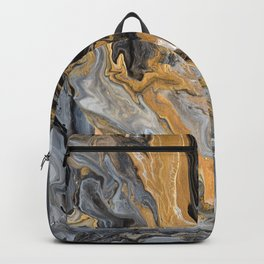 Gold Vein Marble Backpack