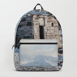 Mountain Winter Shelter   Ushuaia, Argentina   Travel Landscape Photography Backpack