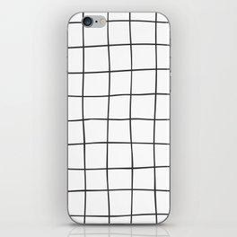 Black Grid V3 iPhone Skin