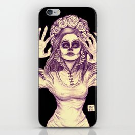 Fears and Feathers iPhone Skin