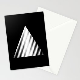 Abstraction 022 - Minimal Geometric Triangle Stationery Cards