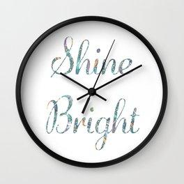 Shine Bright - Gypsy Dreams Wall Clock
