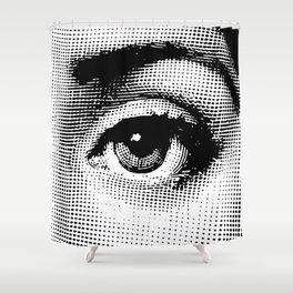 Lina Cavalieri Eye 02 Shower Curtain