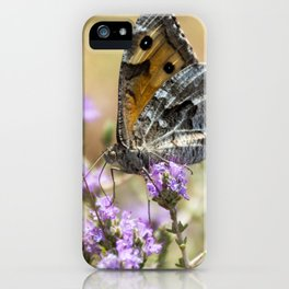 Hipparchia cretica Butterfly iPhone Case