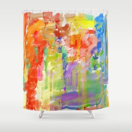 Ebb tides Shower Curtain