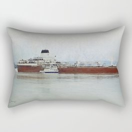 Roger Blough and Ojibway Rectangular Pillow