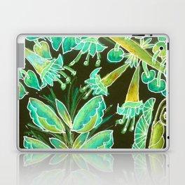 Irish Garden, Lime Green Flowers Dance in Joy Laptop & iPad Skin