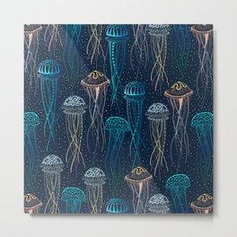 Jellyfish Metal Print