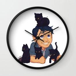 Baby Rhys Wall Clock