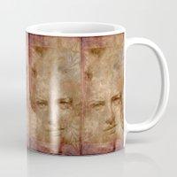 art nouveau Mugs featuring Art Nouveau by ARTito