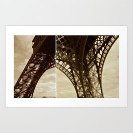 Paris. Art Print
