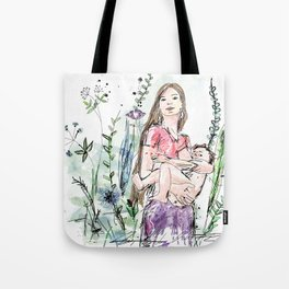 Natural Breastfeeding Tote Bag