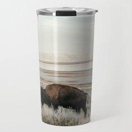 Bison of Antelope ISland Travel Mug
