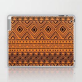 African Mud Cloth // Orange Laptop & iPad Skin