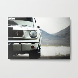 Mustang GT350 car photography classic cars Metal Print