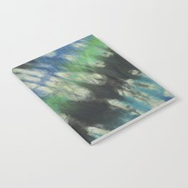 Tie Dye Blue Green 11 Notebook