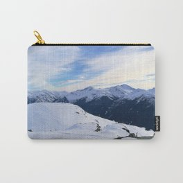 The snowy rocks at mountain tops Carry-All Pouch