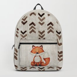 Little Fox, Baby Fox, Baby Animals, Forest Critters, Woodland Animals, Nursery Art Backpack