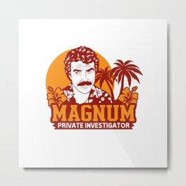 Magnum Private Investigator Metal Print