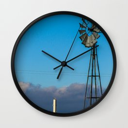 Colorado Windmill Wall Clock