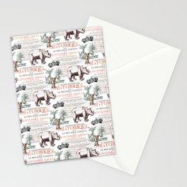 Royal Rhinoceros Stationery Cards