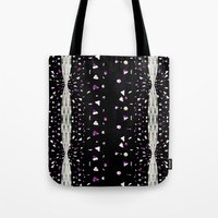 milky way Tote Bags featuring Milky Way by Yeize Studio_Seize The Day!