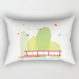 architecture - mies van der rohe Rectangular Pillow